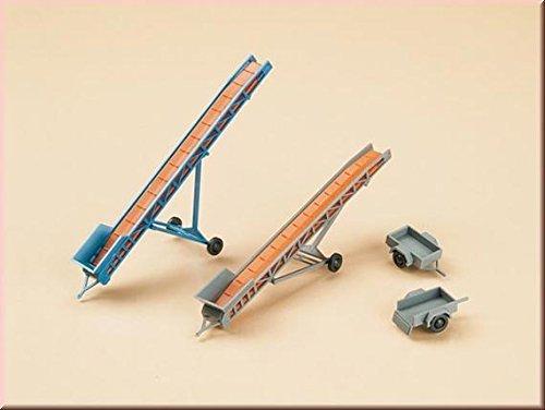Auhagen 43650cintas transportadoras/coche remolques Modelling kit , color/modelo surtido