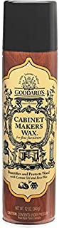 Cabinet Makers Wax Aerosol, 12 OZ (Pack of 6)