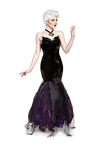 Disney Ursula Prestige Damen-Kostüm für Erwachsene - Schwarz - X-Large (18-20) US