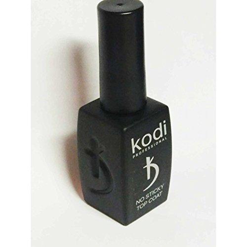 KODI Professioneller Gel-Nagellack für LED/UV, kein klebriger Decklack, 12 ml