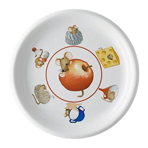 Arzberg Rosenthal Daily Frühstücksteller/Teller/Kuchenteller - Küchenmaus - Porzellan - Ø 20 cm