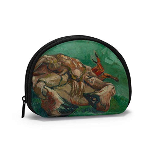 Coin and Key Pouch Crab On Its Back by Vincent Van Gogh Cash and Coin Purse Simple Coin Purse with Zipper Mini Cosmetic Makeup Bags for Women Girls Party Gifts and Decorations