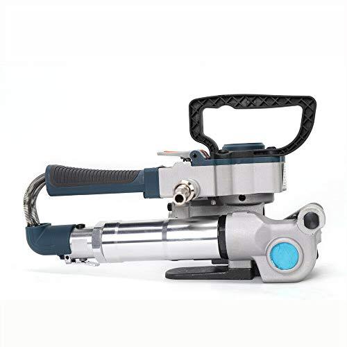 flejadora neumática, dispositivo ligero de flejado 2-5 s, tiempo de soldadura térmica 3500 N, 13-19 mm para papel, madera, productos de metal industrias