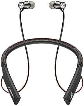 Sennheiser Momentum in Ear Wireless Black Headphones Bluetooth 4 1 with Qualcomm Apt X and AAC product image