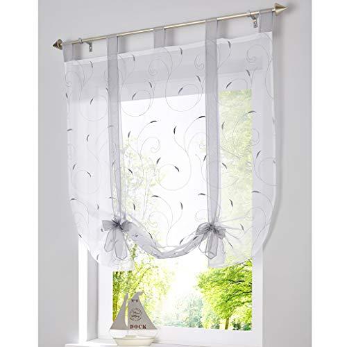 cortinas lino lazos