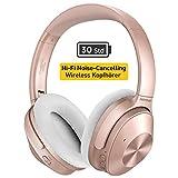 Mpow H12 Noise Cancelling Kopfhrer (ANC), [Bis zu 30 Std] Hybrid-Geruschreduzierungsmodus, CVC 6,0...