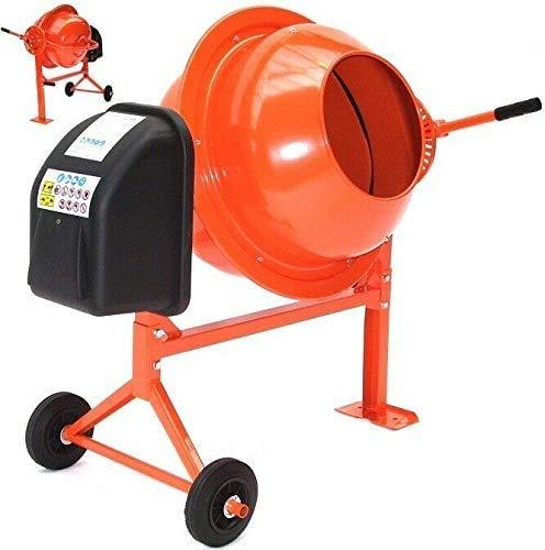 Betonmischer 70L Betonmischmaschine 55503 Mörtel Mischmaschine Zementmischer AWZ