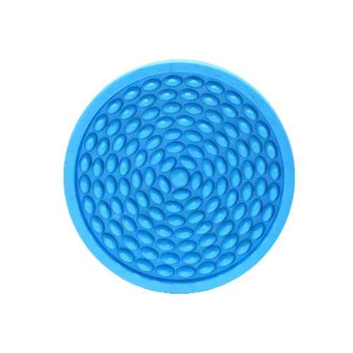 Great Features Of ZHWNGXO Foot Massage Cushion Round Shape Simulation Cobblestone Bath Mat Color Pla...