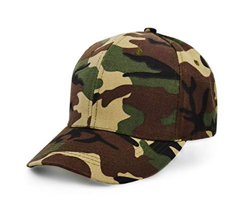 UltraKey  Baseballkappen, Militär-Camouflage-Kappen, Schirmmützen, können für Outdoor-Aktivitäten wie Angeln, Verstellbare, Grüne