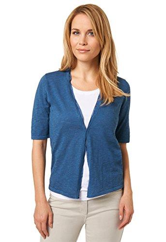 Bonita Damen 1205312 Strickjacke, Blau (Morning Blue 6974), 40 (Herstellergröße: L)