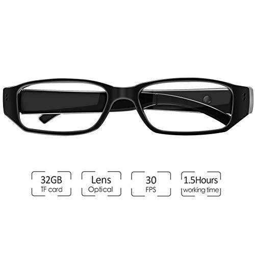 OOLIFENG Camara espia, Gafas Camara 1080P HD Camara Oculta Pequeña Camara de Camara de Seguridad