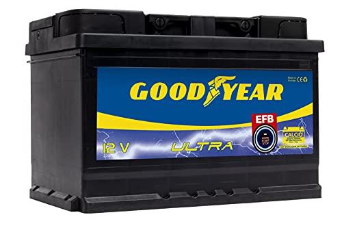Goodyear GODF75EFB - Bateria START-STOP, EFB 75AH 780A (+D)