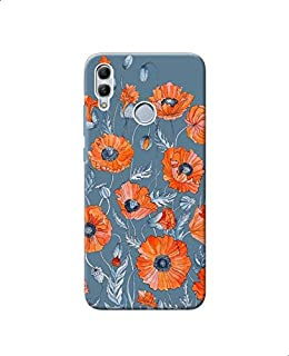 Poppies Floral Botanical Art Printed Back Cover For Samsung Galaxy A30 - Multi Color