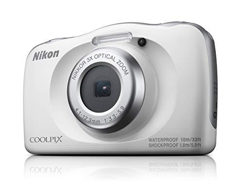 nikon digital cameras compacts Nikon Coolpix W150, White, Compact