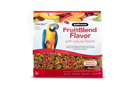 ZuPreem FruitBlend - Large Birds, Size 12 lb