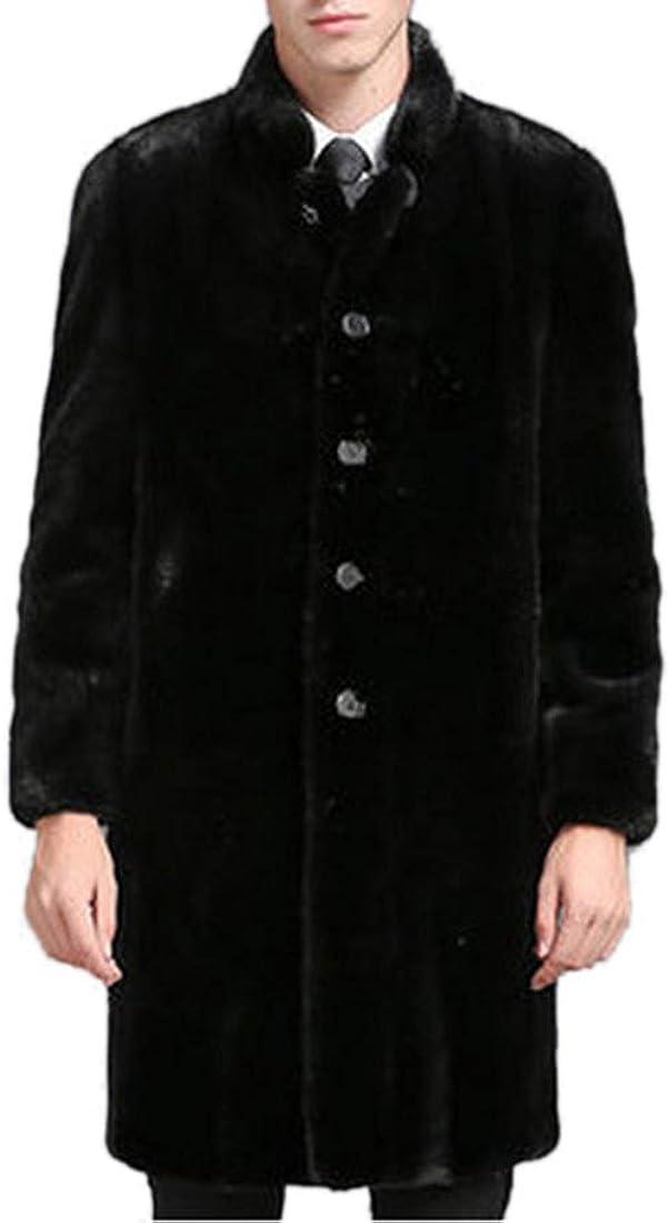 Tngan Long Faux Fur Coat Outwear 55% OFF Winter Overcoat Black Parka Long Beach Mall for