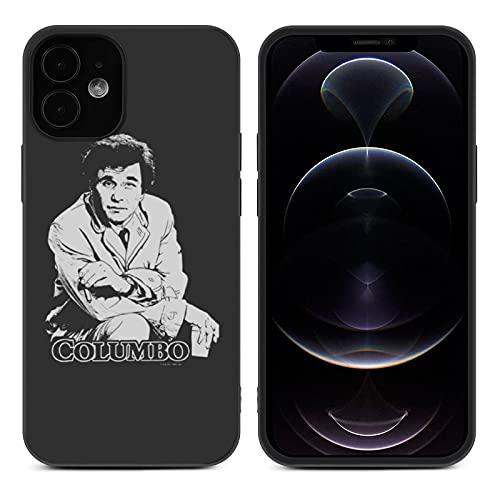 Columbo 刑事コロンボ 映画 iPhone12 用 ケース iPhone12 Pro用 ケース 薄型 軽量 iPhone 12 Pro MAX iPhone 12 mini 用 ケース TPUバンパー ワイヤレス充電対応 耐衝撃 指紋・黄変防止 スマホケース スマホカバー (iPhone 12 mini)