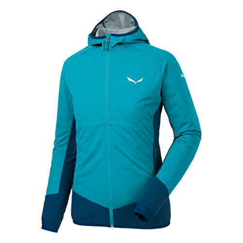 Salewa Damen PEDROC HYBRID Stormwall Dura Stretch Jacke, Caneel bay/8960, 36