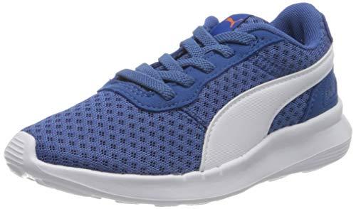 PUMA ST Activate AC PS, Sneakers Unisex-Bambini, Blu (Bright Cobalt White), 32.5 EU