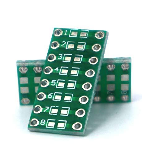 SMD zu DIP/DIL Multiadapter passive Komponenten [0805|0603|0402] 💡🔬 10er Entwicklerset