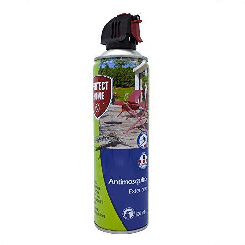 Protect Home 79684169 - Antimosquitos Exteriores para Mosquitos Tigre y Moscas, Insecticida Persistente para Balcones, Terrazas y Jardines, 500 ml