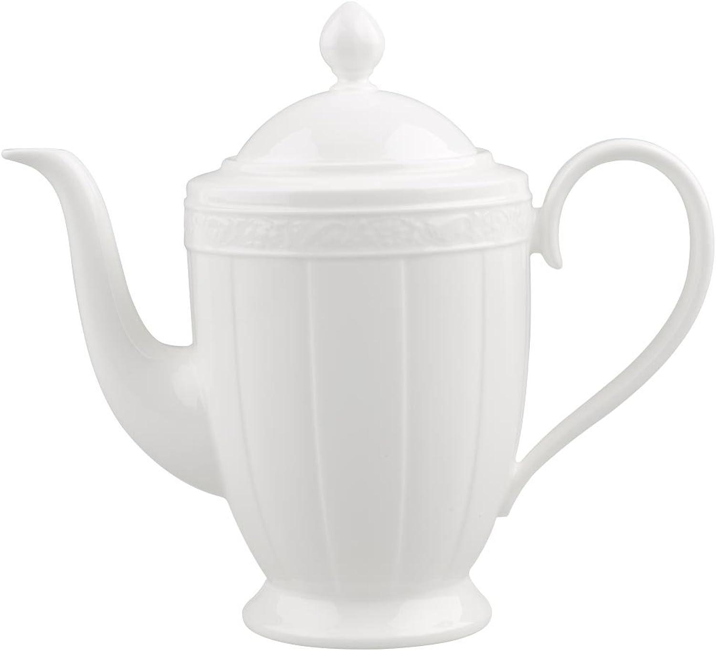 Villeroy & Boch Boch Boch Weiß Pearl Kaffeekanne, 6 Personen, 1,35 l B0045J2WF8 ee985c