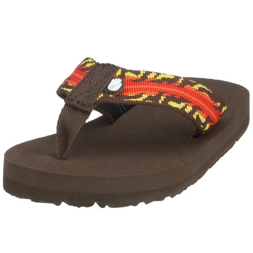 Teva Mush K`s 8912, Unisex - Kinder Sandalen/Zehentrenner, braun, (dragon fire brown ), EU 29, (US 12), (UK 11)