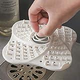 Gadgets de cuisine accessoires fleur forme Outfall Drain couvercle bassin évier crépine filtre douche capteur de cheveux bouchon