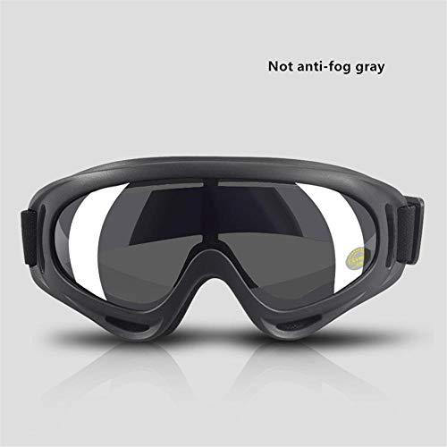 LMWB Beschermende bril Laboratorium Goggles Beschermende tape Verstelbaar met PC Lenzen Impact Protection Geen mist grijs