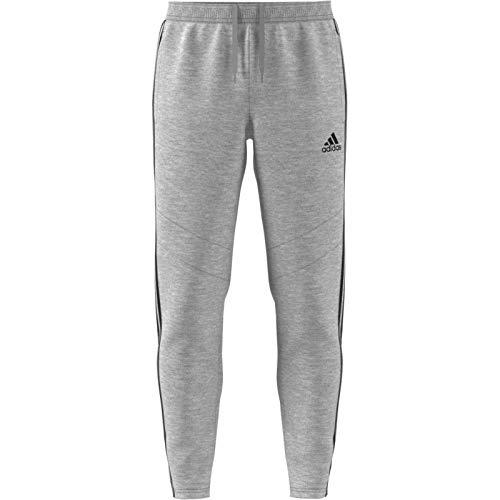 adidas Herren Hose Tiro 19 Cotton Pant, M Grey Heather/Black, XL, FN2341