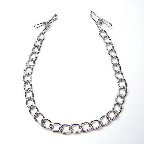 CSH Jeans Clítorial speelgoed voor dames roestvrij staal metalen ketting kleding accessoires zelfvermaak tas kettingen en clips T-shirt