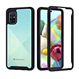 seacosmo Samsung A71 Case, Full Body Shockproof Cover [with