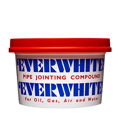 Wiseman Everwhite 400 g Mehrzweck-Fugendichtmasse – einfach aufzutragendes Schmiermittel für Gewinde und Rohre