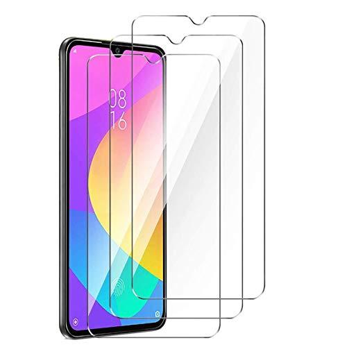 XinYue - 3 Pezzi - Vetro Temperato Xiaomi Mi 9 Lite, Pellicola Protettiva per Xiaomi Mi 9 Lite, [9H Durezza] Anti-graffio, Anti-Polvere, Niente Bolle, Facile da Installare