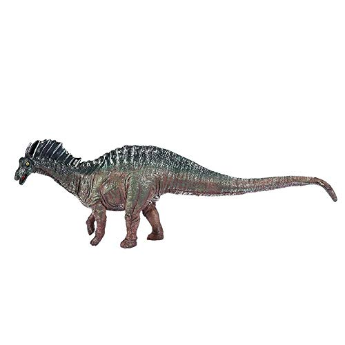 Atyhao Juguete Modelo de Dinosaurio, simulación Modelo de Amargasaurus Juguete de Dinosaurio Plástico Decoración de la Oficina en casa Regalo para niños Juego de Juguete Modelo de Dinosaurio(Verde)