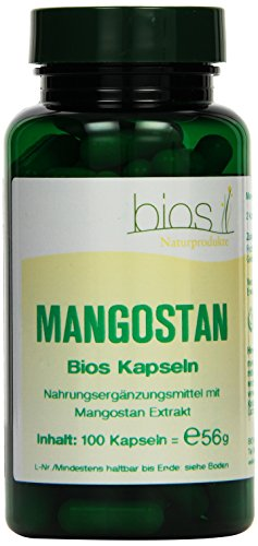 Bios Mangostan, 100 Kapseln, 1er Pack (1 x 56 g)