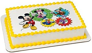 Mickey Mouse Clubhouse Edible Cake Topper or Cupcake Topper Decorations (7.5