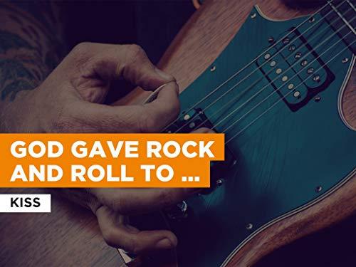 God Gave Rock And Roll To You II al estilo de Kiss