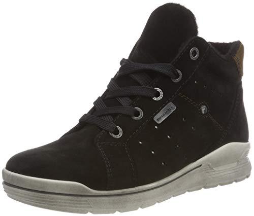 RICOSTA Jungen MAEL Hohe Sneaker, Schwarz (Schwarz 093), 37 EU