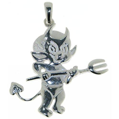 Derby Anhänger Teufelchen kleiner Teufel echt Silber 23243