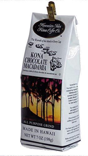 ハワイアンアイルズ レギュラーコーヒー コナ チョコレ―トマカダミア 198g×1個