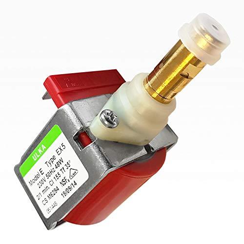 Universal Ulka EX5 - Bomba (48 W, plástico, con conexiones y placa de ajuste)