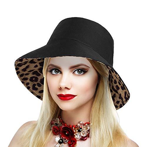 Dsaren Pamela Mujer UPF 50 + Sun Hat for Women Sombrero de Sol Pescador para Viajes, Pesca, Excursiones