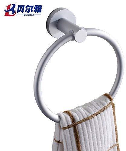 Handdoekring van aluminium scheidingswand handdoekhouder handdoekhouder handdoekhouder handdoekring handdoekhouder badkamer