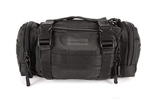 Snugpak ResponsePak, riñonera con Cinta MOLLE y Sistema de Clip Alice, Color Negro