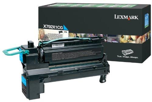 Lexmark X792 Cyan Extra High Yield Return Program Print Cartridge