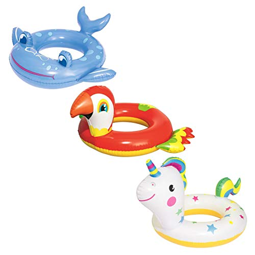 Bestway Schwimmring Happy Animal 3-6 Jahre, sortiert