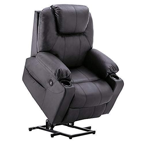 Mcombo Electric Power Lift Recliner Chair Sofa with Massage and
