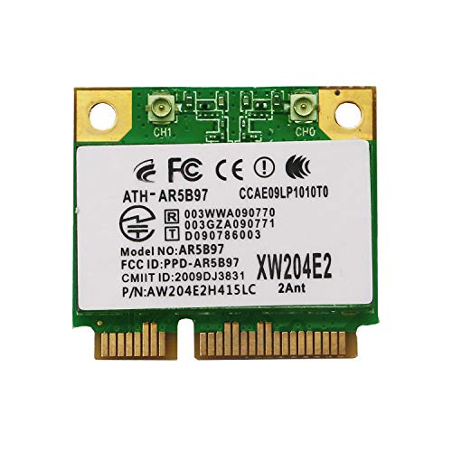 Wireless Network Adapter für Laptop-qualcomm Atheros ar9287 Wireless Network Adapter Mini PCIe WLAN card-802.11 N 2 x 2 mimo2.4ghz 300 mbps-Mini PCIe Wireless Adapter