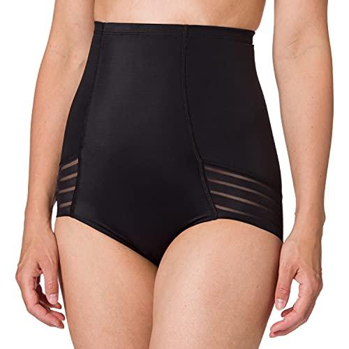 Marchio Amazon - Iris & Lilly Slip Contenitivi a Vita Alta Supporto Medio Donna, Nero (Black), S, Label: S